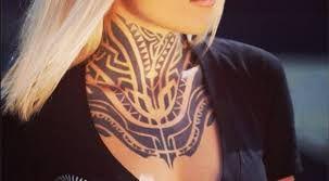 """Résultat de recherche d'images pour """"tatouage polynésien nuque"""""""