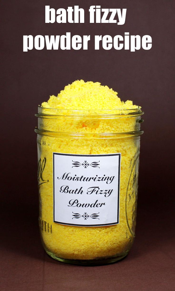 This moisturizing bath fizzy powder recipe nourishes skin with ingredients like mango and cocoa butters, safflower oil and Epsom salts. You can also use this same bath fizzy powder recipe to make your own moisturizing bath bombs.