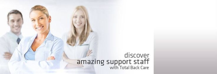 Discover amazing support staff with total back care! | totalbackcare.com.au