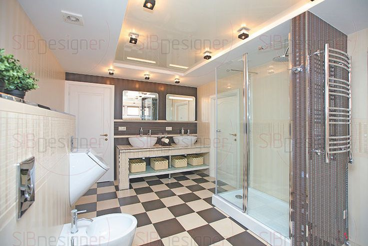Ванная фото, дизайн ванной комнаты, интерьер ванной комнаты - СибДизайнер.ru