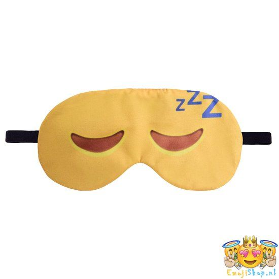 Sleep Emoji Sleep mask- can be a sewing project (2 weeks) students to sew on eyes and zzz's need stretch band or ribbon to tie