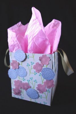 Image result for tissue box as gift bags