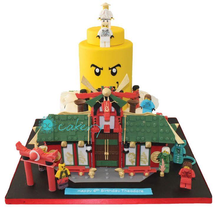 Lego Ninjago City Cake - Cake by BoutiqueCakery