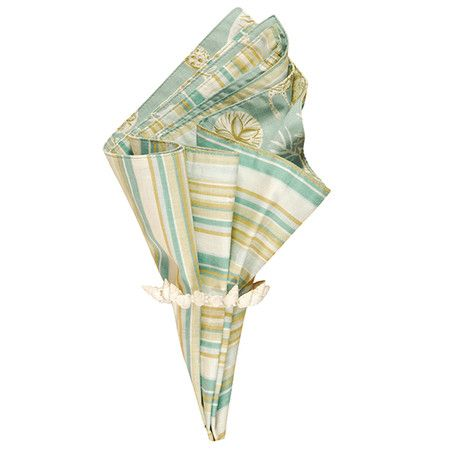 Set your table in breezy style with this chic napkin, perfect for everyday dining and delightful spring soirees alike.  Product: