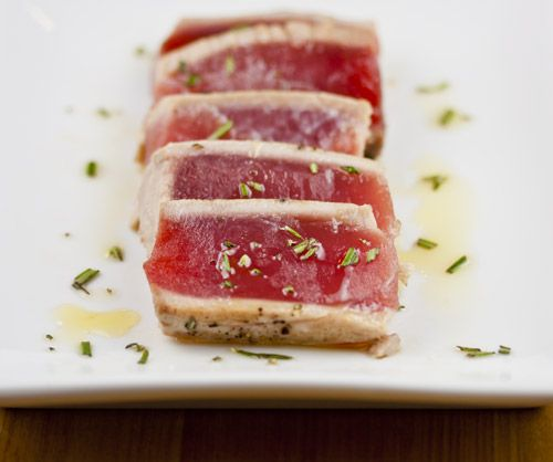 Pan-Seared Tuna with Avocado, Soy, Ginger, and Lime -- Verdict: Super ...