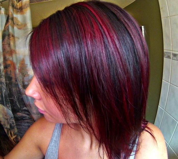 Violet Hair Blonde Highlights | 25+ best ideas about Purple highlights underneath on ...