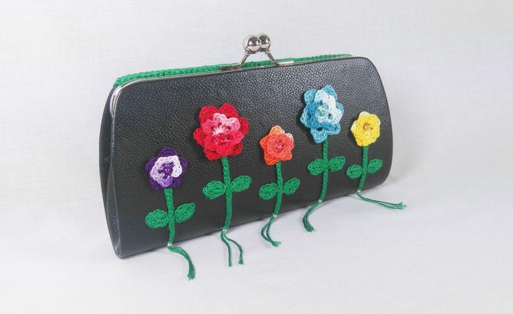 Meadow flowers clutch bag by DSfashion on Etsy