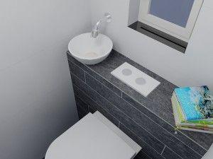 Toilet renovatie http://www.eerstekamerbadkamers.nl/portfolio/klein-toilet