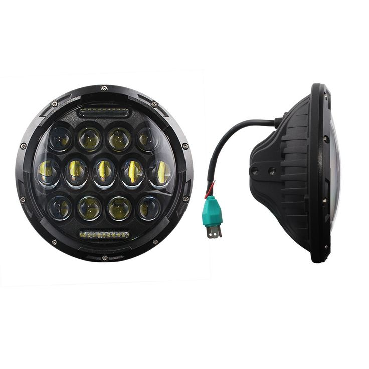 69.99$  Buy now - http://ali45t.shopchina.info/1/go.php?t=32811285255 - Nighteye 7'' 78w Running Lights For Cars Round H4 Led Bulb Hi/Low Beam Drl Car Led Lights For Jeep Cars Headlight 69.99$ #buychinaproducts