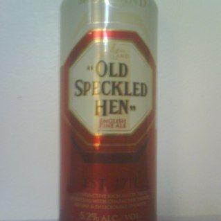 Old speckled hen, Creada en el año: 1717 Ingredientes: Agua, lúpulo, levadura, cereales Graduación Alcohólica: 5.2 %