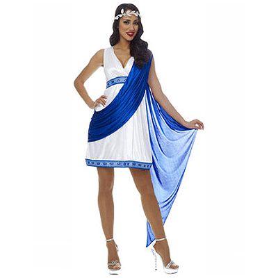 Griekse keizerin kostuum