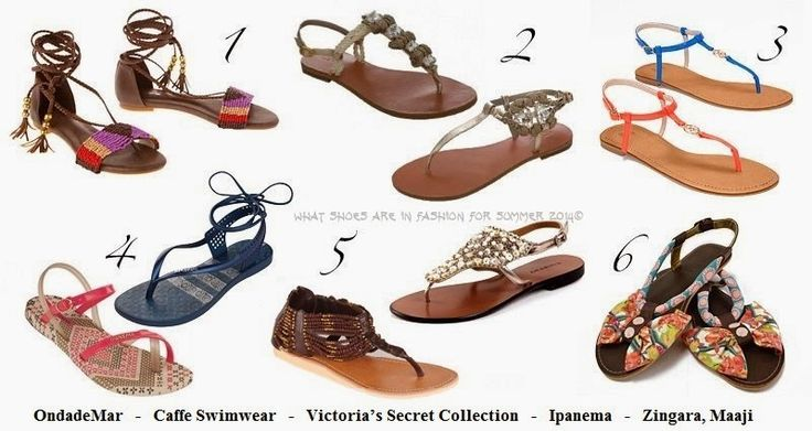 what shoes are in fashion for summer 2014