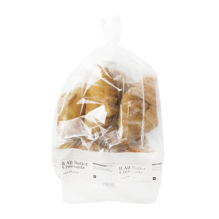 All Butter Croissants 8Pk