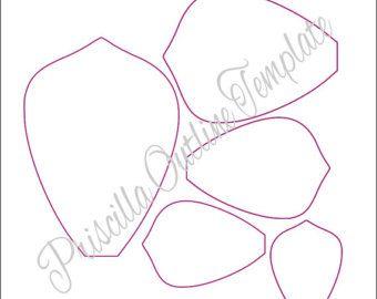 Descargar para imprimir papel flor gigante por CatchingColorFlies