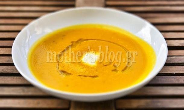 Συνταγή για λαχταριστή και υγιεινή βελουτέ σούπα καρότο από τον Γιώργο Γεράρδο