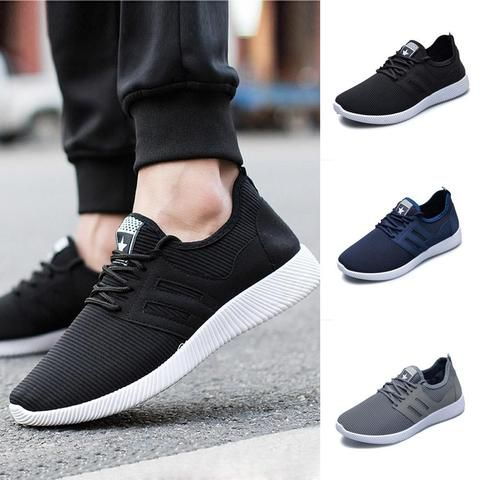 3f465054d 2018 Men Solid Color Cross Tied Stripe Gym Shoes Running Shoe Sneakers  Running Shoes Sports Shoes 20