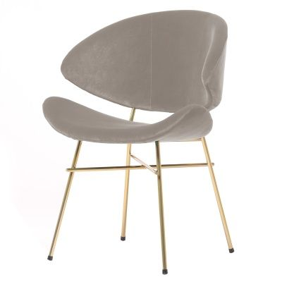 Krzesło Cheri Gold- beżowe
