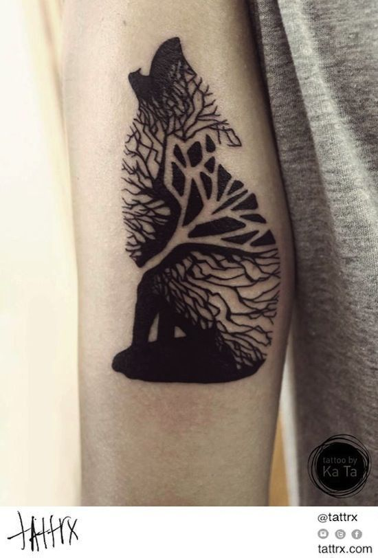 50 Tree Tattoo Ideas For Nature Lovers (6)