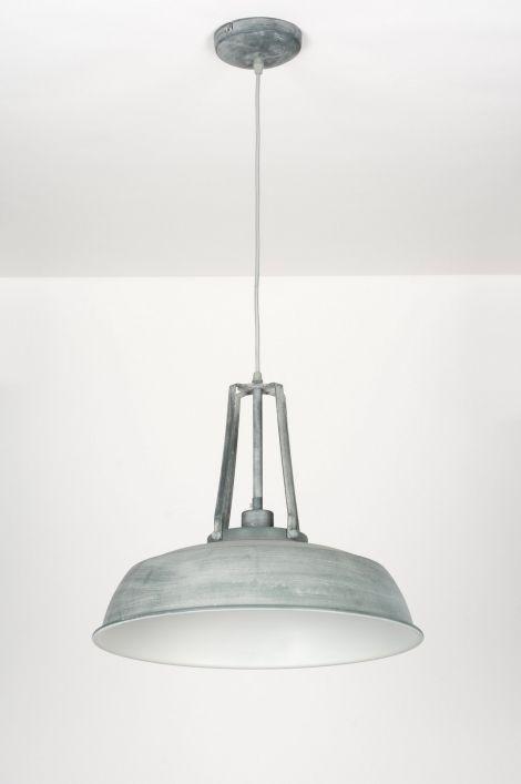 Pendelleuchte 72051: modern, Retro, Industrielook, Metall