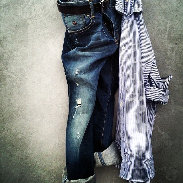 MAD 1992 jeans & shirt