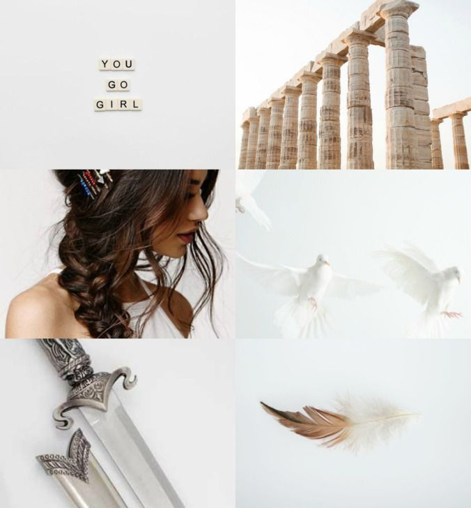 I'm really enjoying making aesthetics lately and today I made them for The seven, Nico and Reyna from the Heroes of Olympus series. This is a series I really enjoyed, just like it was super f…