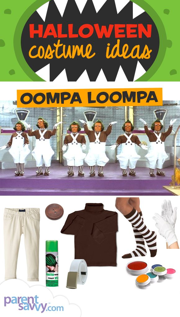 Halloween Costume Ideas: Oompa Loompa | ParentSavvy
