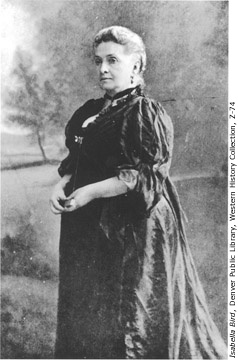 """Isabella Lucy Bird (1831 – 1904) was a nineteenth-century English explorer, writer, and a natural historian. """"There never was anybody,"""" wrote the Spectator, """"who had adventures as well as Miss Bird."""""""