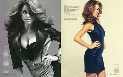 So excited for the premiere of Maria Menounos', new show on Oxygen tonight, #ChasingMaria at 10/9c! Check out this Q&A with her in the meantime and the editorial I styled for her below!