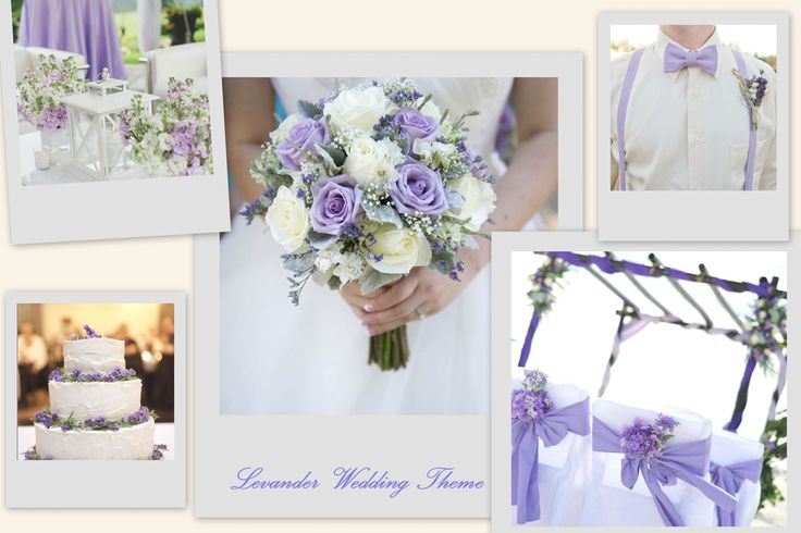Levander Wedding Theme #wedding #design #levander #weddingflower #ido #santorini