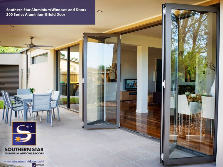 Aluminium Bifold Doors are a beautiful contemporary option to bridge indoors and outdoors.