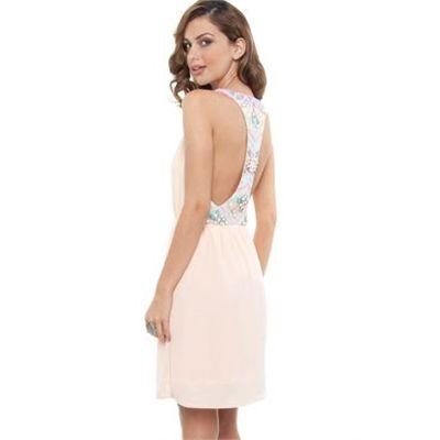 Cooper St - Decolish Dress - Dresses (Sweet Peach )