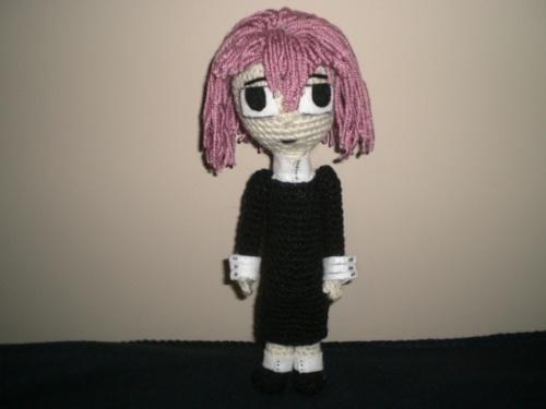 Amigurumi Doll Anime : Hatsune miku amigurumi · a cartoon plushie · crochet on cut out keep