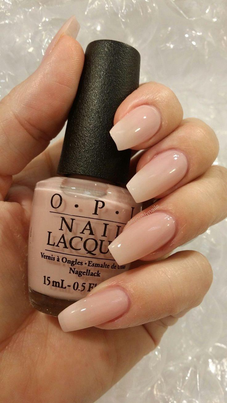 OPI - Soft Shades Collection - Sheer Pink Shimmer Glitter