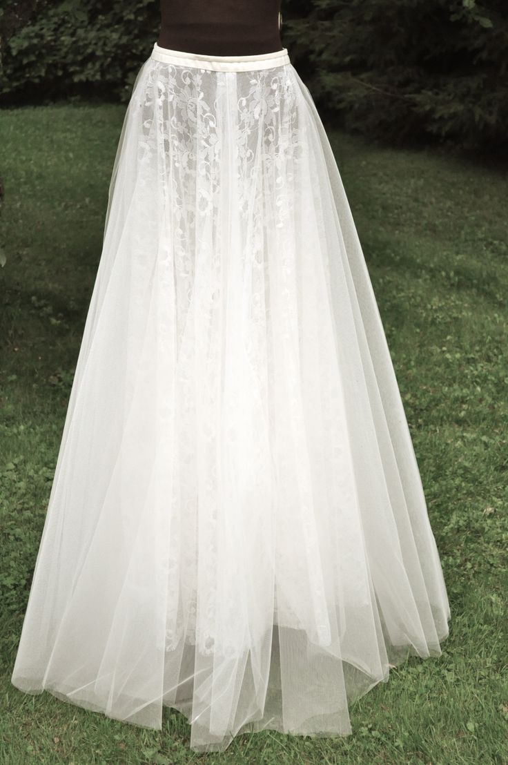 Wedding skirt by www.parantparant.se