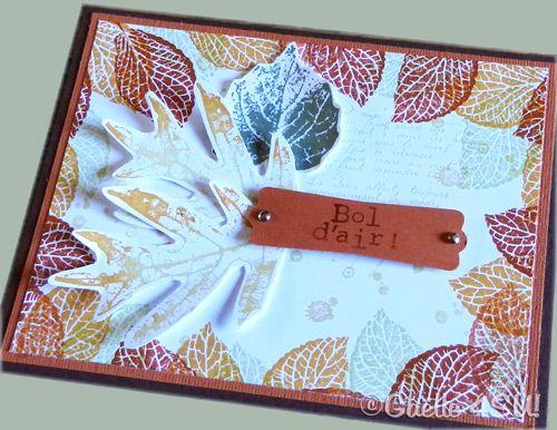 carte neutre - automne