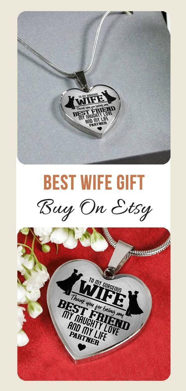 Beautiful To My Wife Necklace From Husband Best Gift for