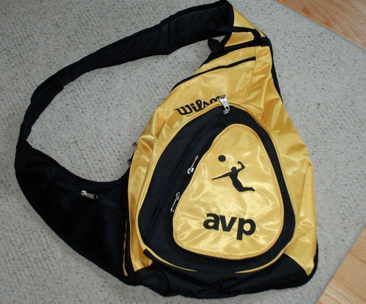 Wilson AVP Volleyball Sling Bag Back Pack #Wilson #Sling