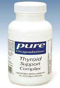 Pure Encapsulations Thyroid Support Complex - 120 capsules
