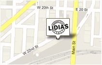 Lidia's in Kansas City - fabulous Italian food!