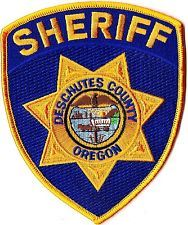 Deschutes County Sheriff Oregon patch