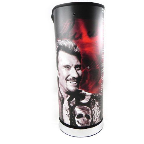 Johnny Hallyday [H1959] - Lampe 'Johnny Hallyday' tête de mort