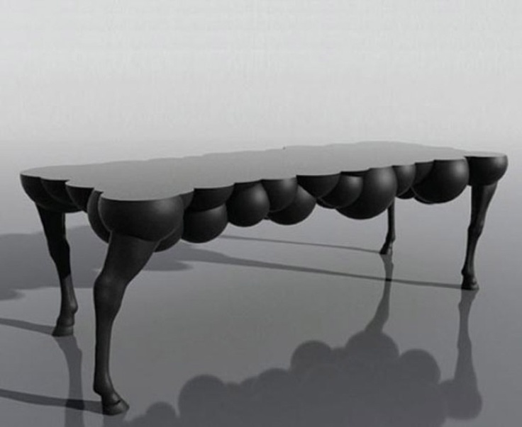 1000 images about weird and wonderful coffee tables on for Bizarre coffee table