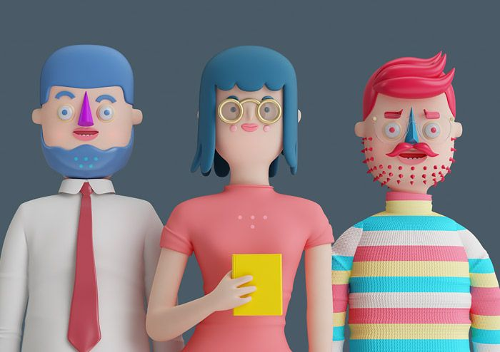 Quirky illustrations by Mexican artist and graphic designer Aarón Martínez.  More illustrations via Behance