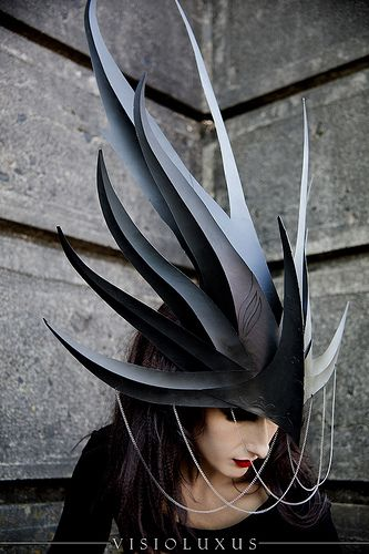 Dragon Queen headdress by Phillip Valdez