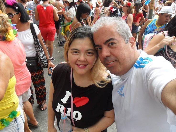 Luis Alexandre Franco Gonçales e Giovanna Trotta - Carnaval 2016