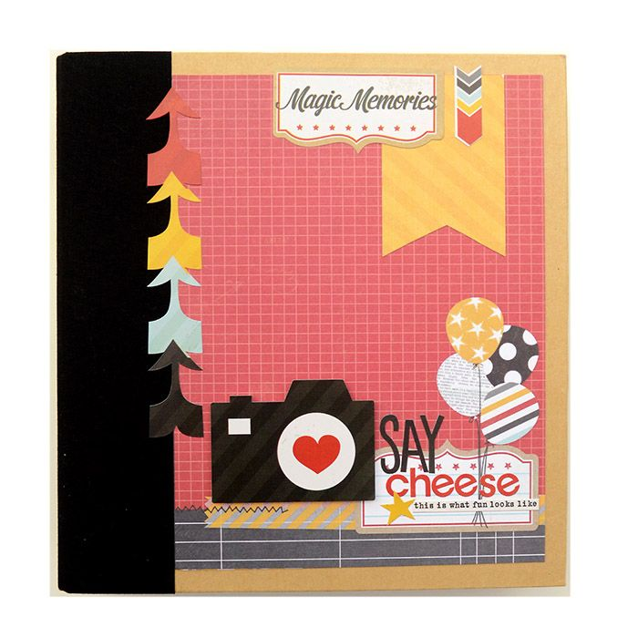 Simple Stories - SNAP Collection - Binder Album Class Kit - Say Cheese at Scrapbook.com