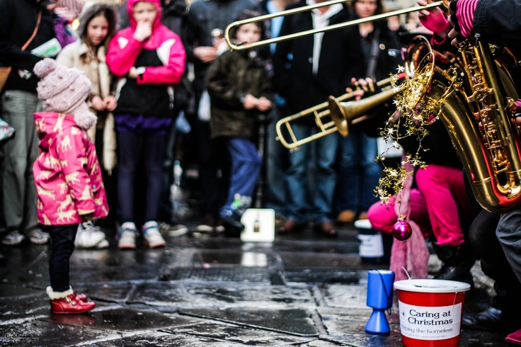 Brass band in st nicholas market Bristol 12