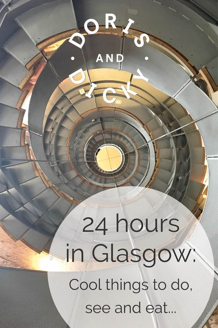 Doris & Dicky share their tips on what to do with 24hrs in #Glasgow - a surprisingly fab #CityBreak destination