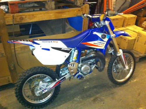 yamaha yz85 2007  Item condition:Used  Time left:30m 37s (17 Apr, 201211:50:44 BST)  Current bid:£700.00  [ 1 bid ]      Place bidPlace bid  (Enter £720.00 or more)      Add to Watch list    Postage:Read item description or contact seller for details.    |  See all delivery details    Item location: croydon, Surrey, United Kingdom    Post to: United Kingdom  Delivery:Varies  Payments:  Cash on collection | See payment information  Returns:  http://sales.me.uk: Bidplac Bid, Delivery Details, Bid Enter, 2007 Items, Kingdom Posts, Details Items, Current Bid, Places Bidplac, Watches Lists