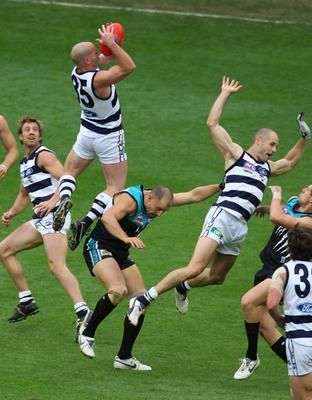 aussie rules footy, go the cats!